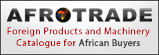 Africa's Prime Foreign Products, Equipment & Machinery Catalogue for African Buyers