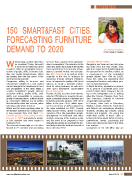 150 Smart and Fast Cities Forecasting Furniture Demand to 2020