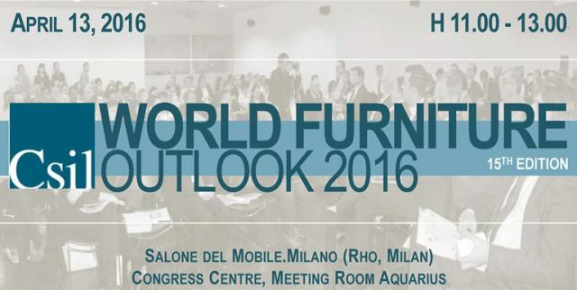 World Furniture Outlook Seminar 2016