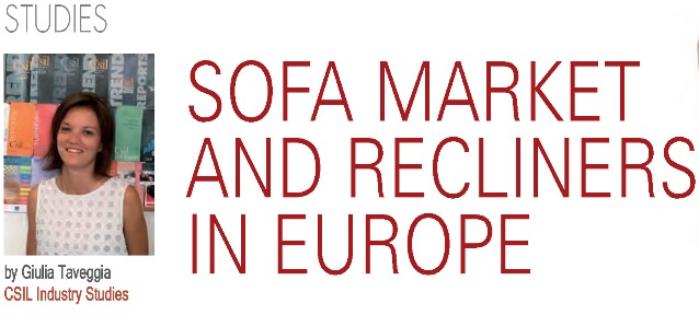 Sofa market and Recliners in Europe