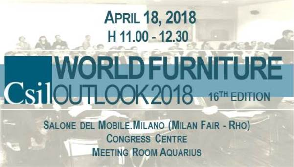 World Furniture Outlook Seminar 2018
