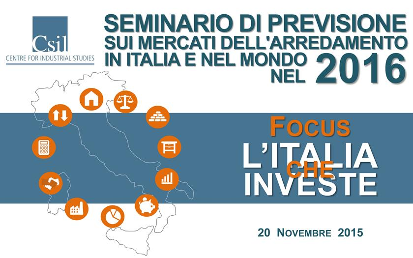 Forecast Seminar for the Furniture Markets in Italy and Worldwide 2015
