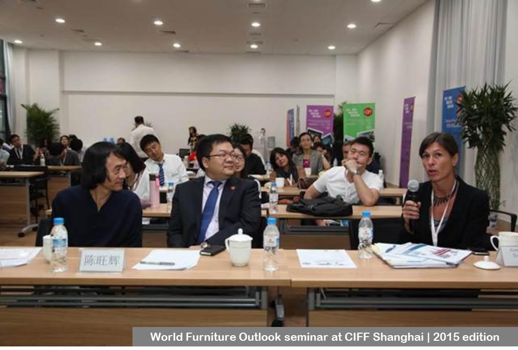 World Furniture Outlook Seminar at CIFF Shanghai 2015